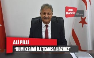 Ali Pilli: Rum Sağlık Bakanıyla temasa hazırız