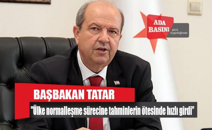 Başbakan Tatar KTTO'yu kabul etti