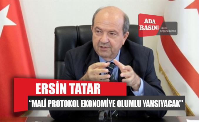 """Tatar: """"Türkiye ile imzalanan mali protokol ekonomiye olumlu yansıyacak"""""""