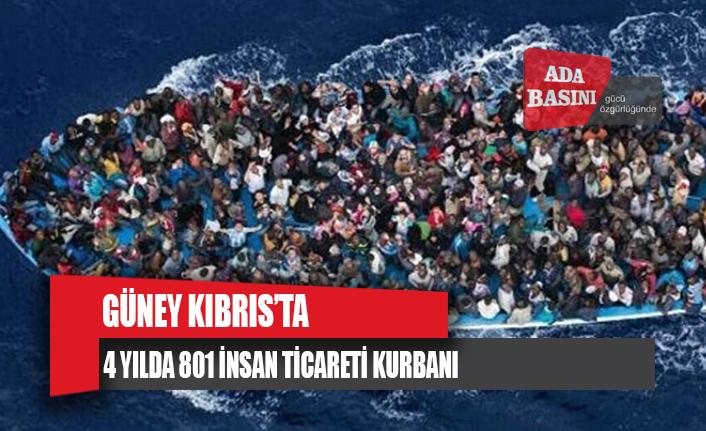 Güney Kıbrıs'ta 4 yılda 801 insan ticareti kurbanı