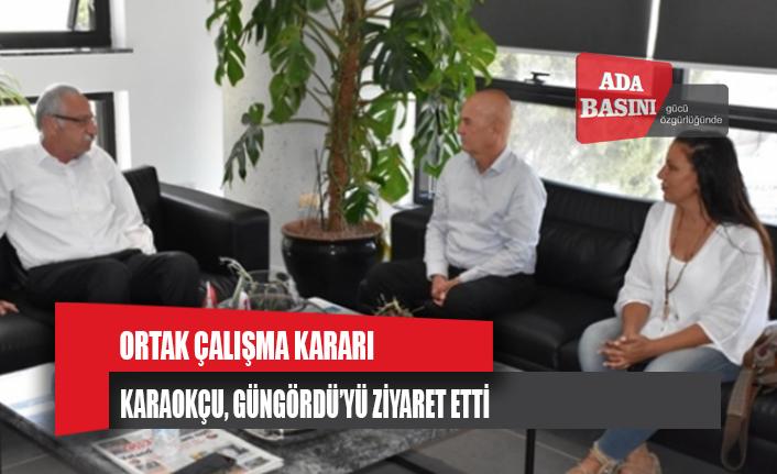 Güngördü, Başbakanlık Uyuşturucu İle Mücadele Komisyonu Başkanı Karaokçu'yu Kabul Etti
