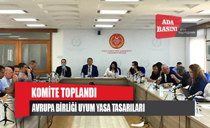 Komite Hamza Ersan Saner başkanlığında toplandı