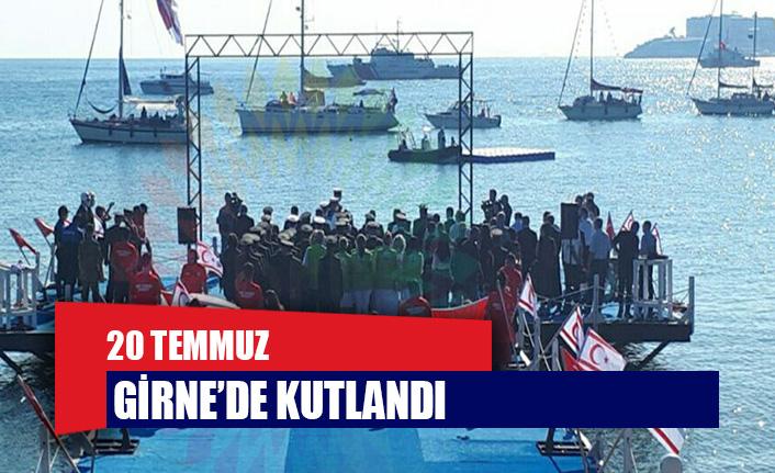 20 Temmuz Barış ve Özgürlük Bayramı Girne'de de kutlandı