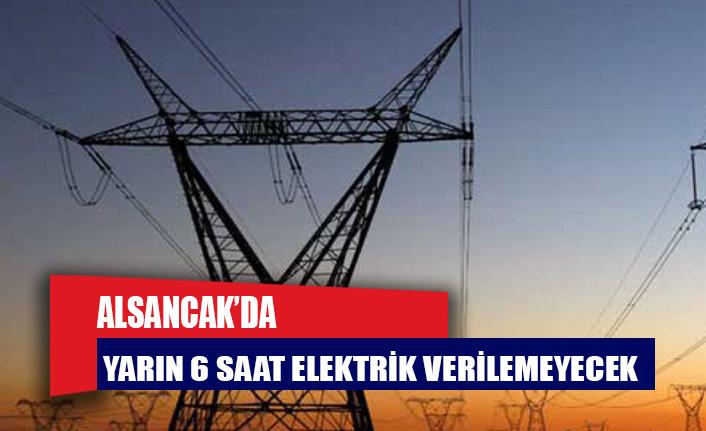 Alsancak'ın bazı bölgelerine yarın 6 saat elektrik verilemeyecek