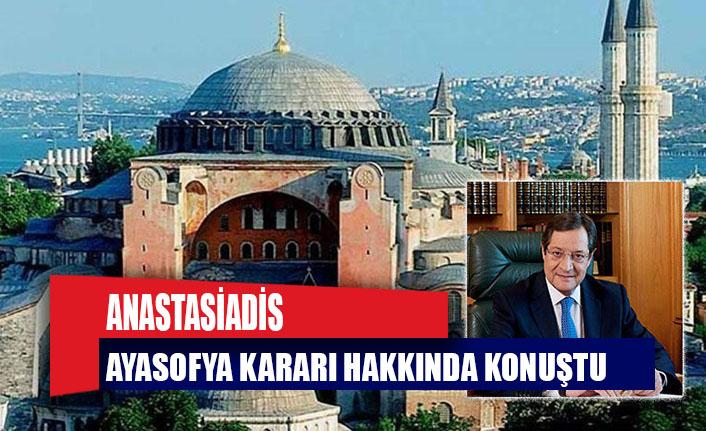 """Anastasiadis, Ayasofya kararı hakkında konuştu: """"Yeni bir meydan okuma..."""""""