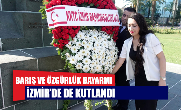 Barış ve Özgürlük Bayramı İzmir'de de kutlandı