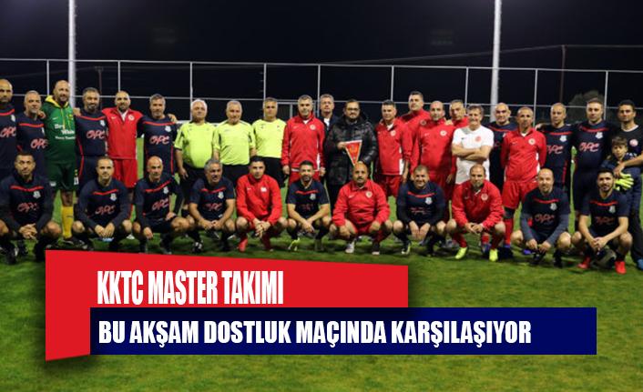 Cumhuriyet Meclisi Futbol Takımı ile KKTC Master Futbol Takımı karşıkarşıya