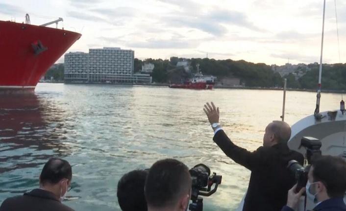 Fatih sondaj gemisi Karadeniz'deki ilk sondajına başladı