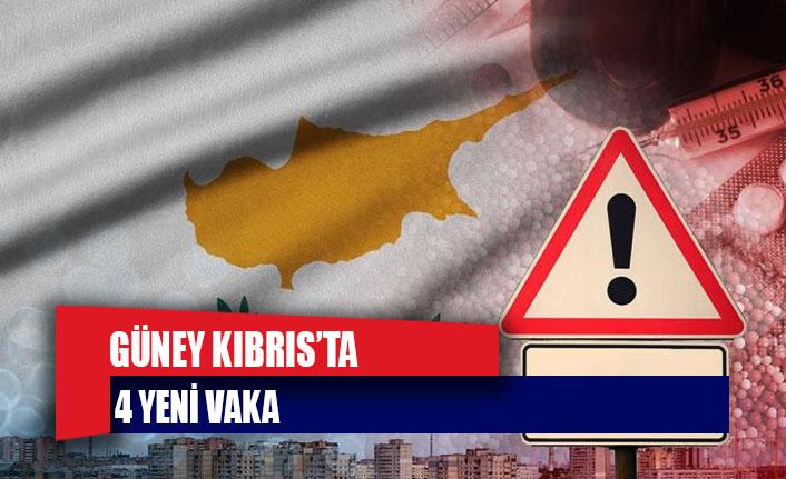 Güney Kıbrıs'ta 4 yeni vaka