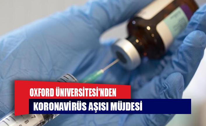 Oxford Üniversitesi'nden koronavirüs aşısı müjdesi