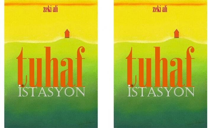 Şair Zeki Ali'nin 10'uncu şiir kitabı Tuhaf İstasyon yayımlandı