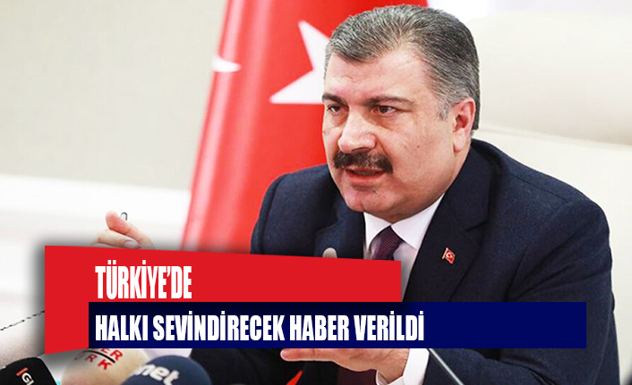 Türkiye'de herkesi sevindirecek açıklamalar