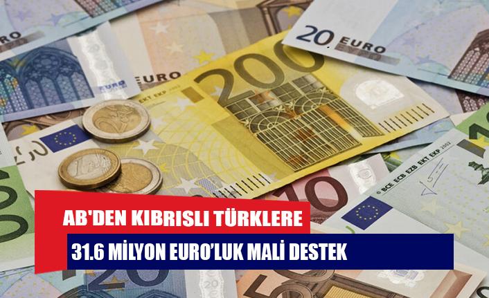 AB'den Kıbrıslı Türklere 31.6 milyon Euro'luk mali destek