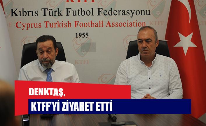 DENKTAŞ, KTFF'Yİ ZİYARET ETTİ