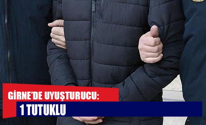 Girne'de uyuşturucu: 1 tutuklu