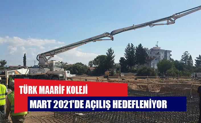 İskele Türk Maarif Koleji binasının temeli atıldı: Mart 2021'de açılış hedefleniyor