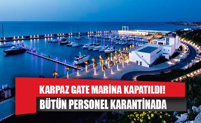 Karpaz Gate Marina kapatıldı!