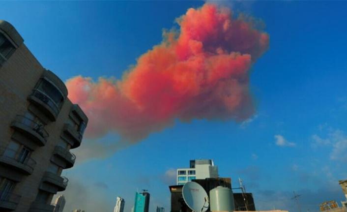 """Korkutan patlama nedeniyle oluşan zehirli gazlar """"adaya ulaşmadı"""""""