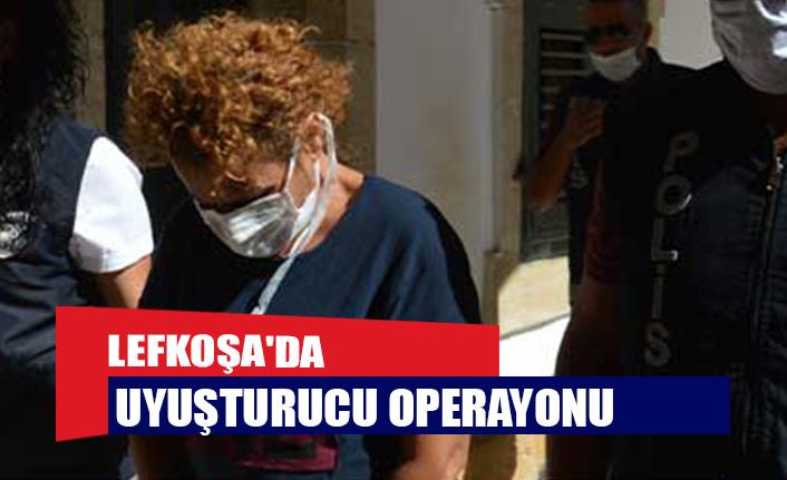 Lefkoşa'da uyuşturucu operayonu