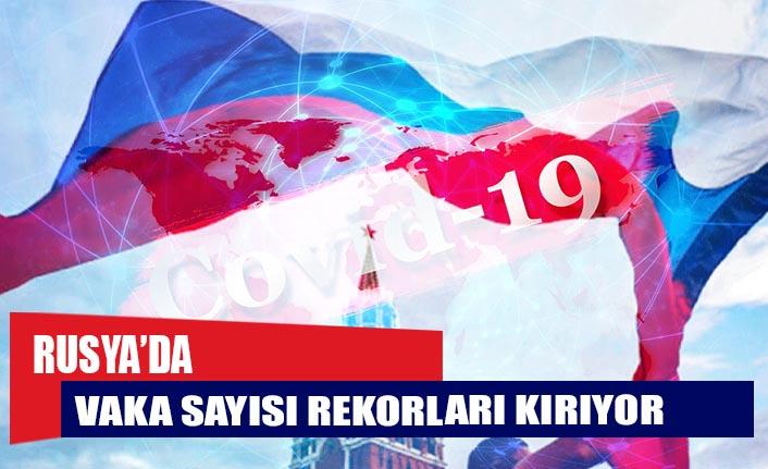 Rusya'da Covid-19 vaka sayısı 882 bini geçti