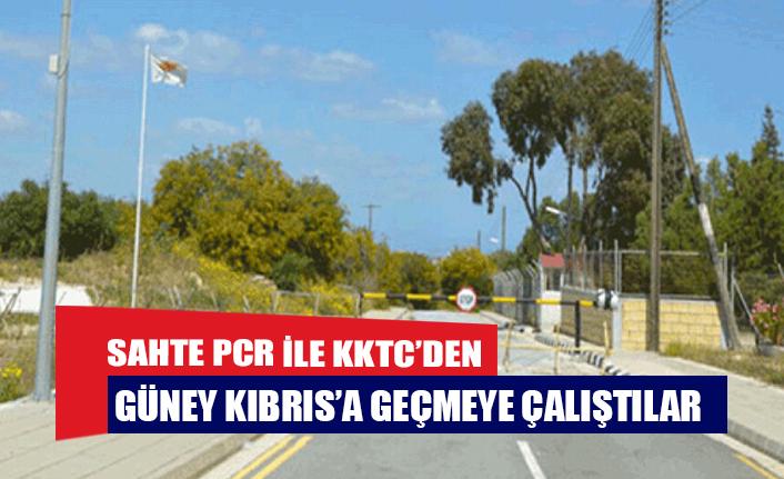 Sahte PCR ile KKTC'den Güney Kıbrıs'a geçmeye çalıştılar