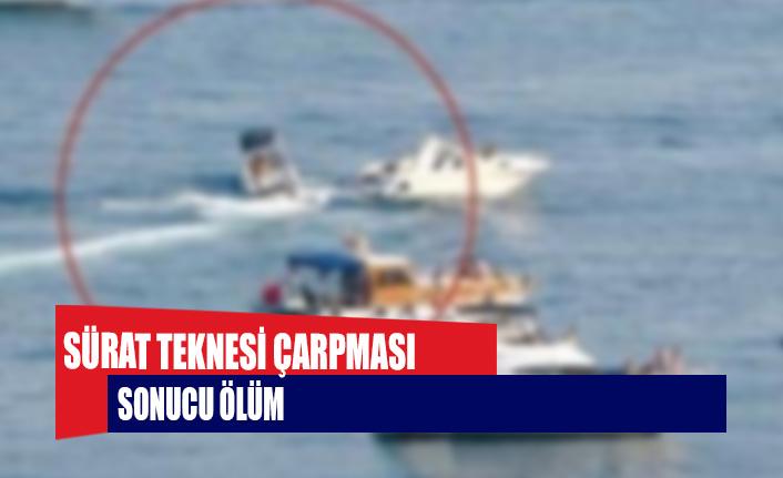 Sürat teknesi çarpması sonucu ölüm