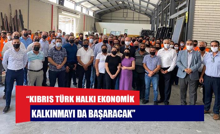 """Tatar: """"Kıbrıs Türk Halkı ekonomik kalkınmayı da başaracak"""""""