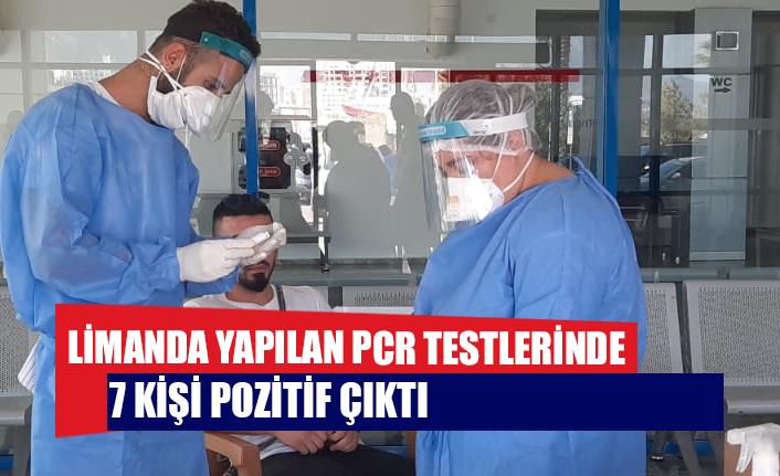 Limanda Yapılan PCR Testleri Sonucu 7 Kişi Covid-19 Çıktı