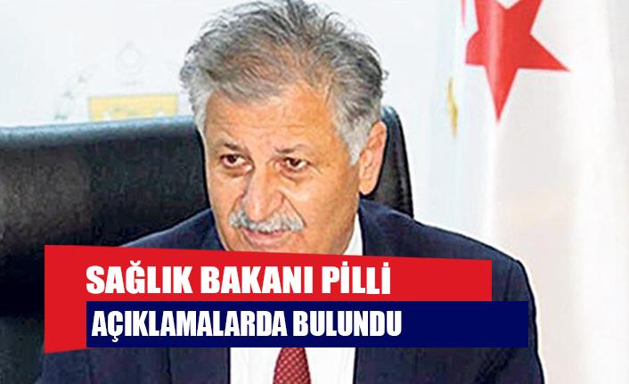 Sağlık Bakanı Pilli açıklamalarda bulundu