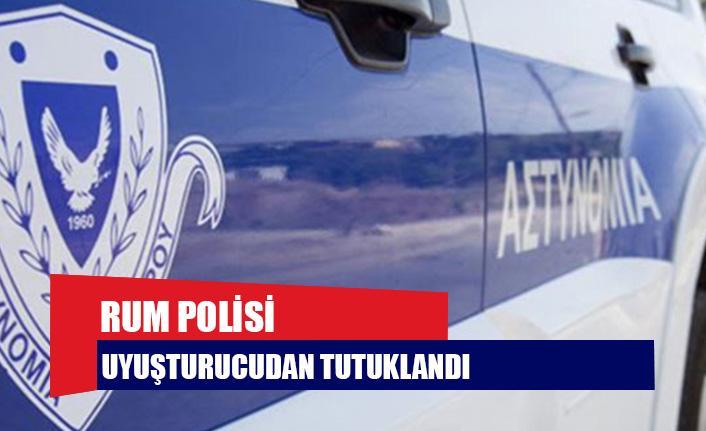 Rum Polisi Uyuşturucudan Tutuklandı