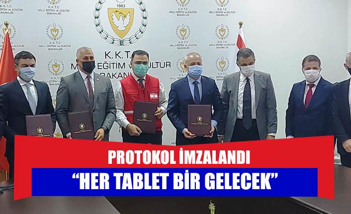 """""""Her tablet bir gelecek"""""""
