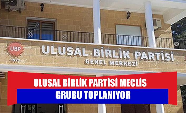 Ulusal Birlik Partisi Meclis Grubu toplanıyor