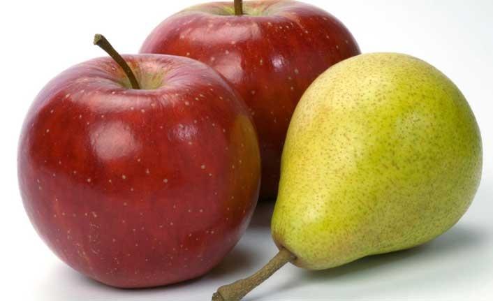 Ağız kokusuna karşı elma ve armut önerisi