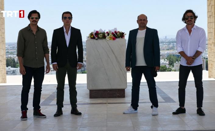 """""""Bir Zamanlar Kıbrıs"""" Oyuncularından Anlamlı Ziyaret"""