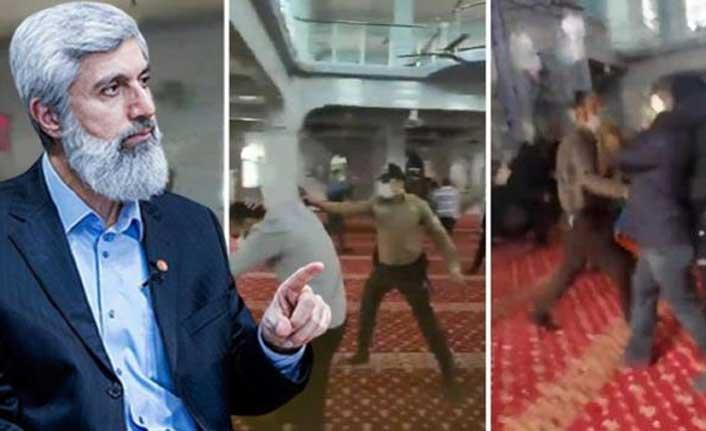 Cami provokasyonunun ardından bu kez de sokağa çıktılar! Alparslan Kuytul ve beraberindekiler gözaltına alındı