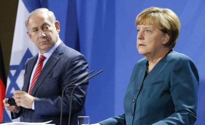 Merkel: İsrail'in kendini korumaya hakkı var!