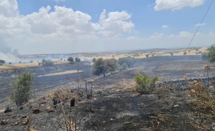 Şiddetli patlamadan sonra yangın çıktı