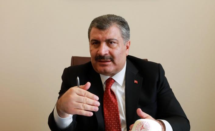 Türkiye'de 281 can kaybı, 18 bin 52 yeni vaka