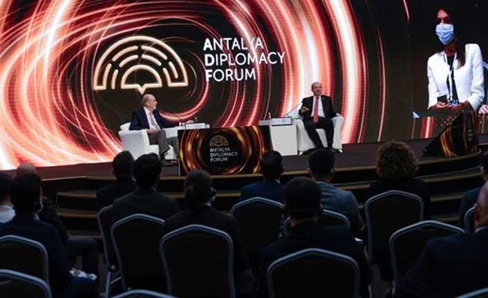 """Cumhurbaşkanı Tatar, """"Antalya Diplomasi Forumu""""Nda Konuştu"""