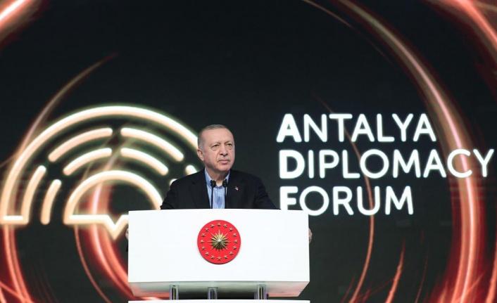Erdoğan: İki devletli çözüm önerisini destekliyoruz