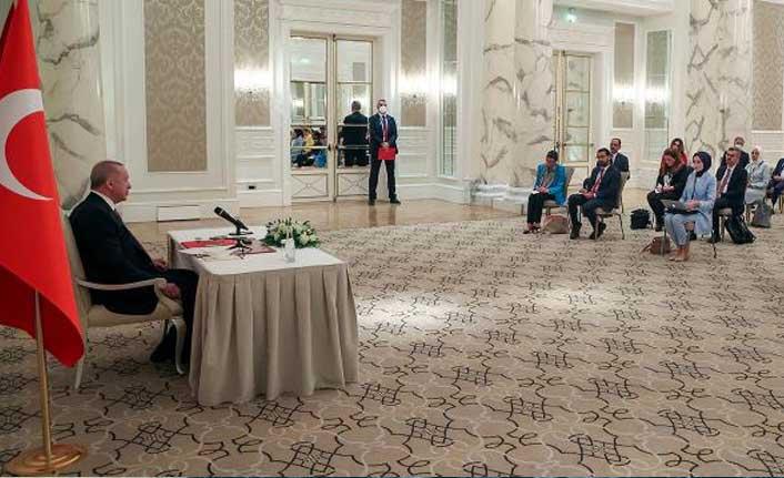 Erdoğan'dan Biden'a: S-400 ve F-35 konusunda farklı adım atmamızı beklemeyin