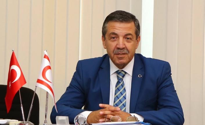"""Ertuğruloğlu: Kıbrıs Türk tarafının politikasının """"Acabası falan yoktur"""""""