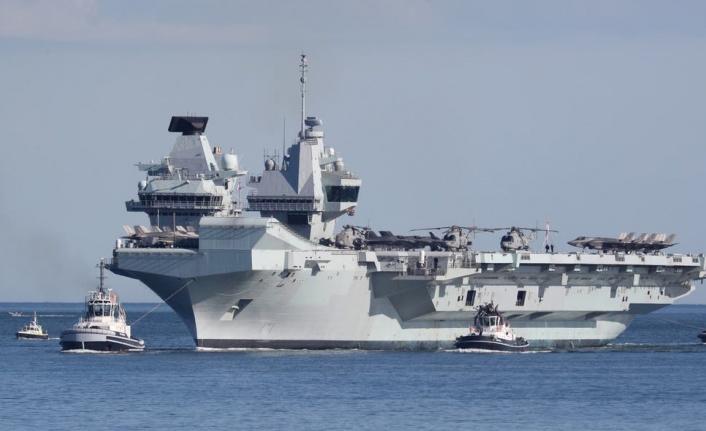 İngiltere'nin en büyük savaş gemisi Limasol'a demir atacak