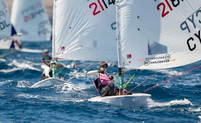 Kıbrıslı Rum yelkenci Marilena Makri altın madalya kazandı