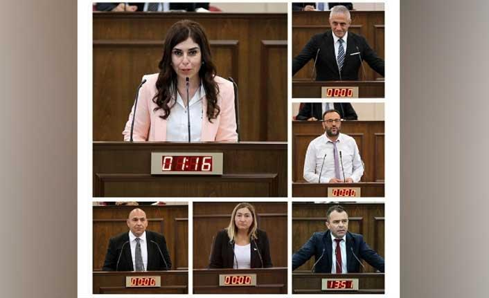 KKTC – TÜRKİYE  Parlamentolar Arası Dostluk Grubu Ankara'ya Gitti