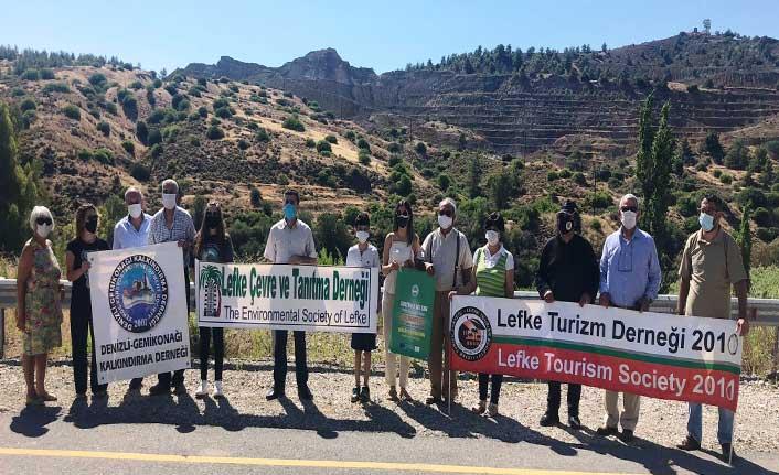 Lefke Çevre ve Tanıtma Derneği, 5 Haziran Dünya Çevre günü nedeniyle eylem düzenledi