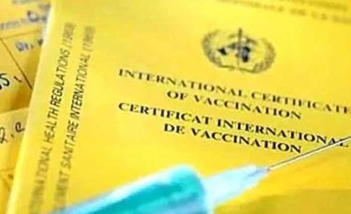 Seyahat Edecek Olanlara Aşı Sertifikası Verilecek