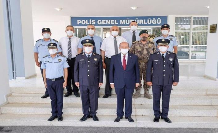 Tatar, Polis Genel Müdürlüğü'nü ziyaret etti