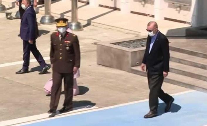 TC Cumhurbaşkanı Erdoğan, Brüksel'e gitti