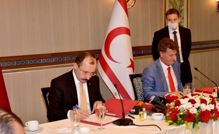Türkiye hükümeti ile KKTC hükümeti arasında protokol imzalandı